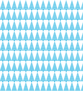 Squared Free Seamless Christmas Tree pattern