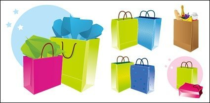 Shopping bag colorfull