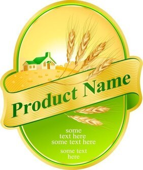 Product Label Design 05