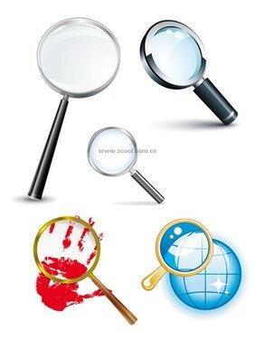 5 magnifying glass