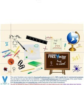 Vector School Objects