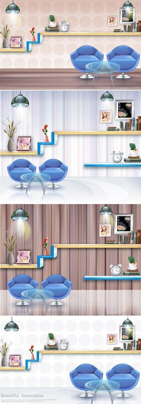 Stylish room decoration