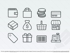 Vector Ecommerce Icons