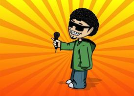 Cool Guy Cartoon