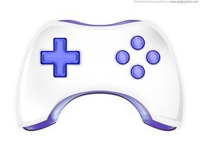Gamepad icon (PSD)
