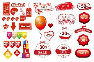 3 sets at a discount decorative icon