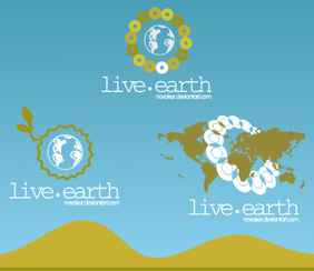 Live Earth Free Logo Design