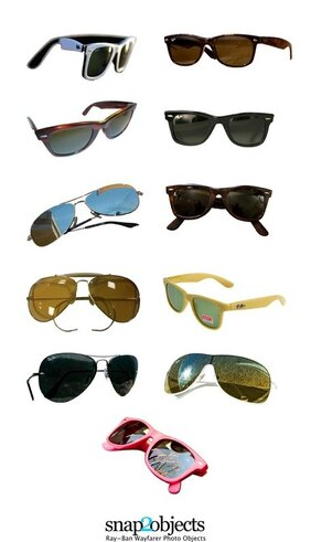 Ray-Ban Wayfarer Photo Objects