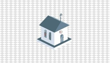 Isometric small church