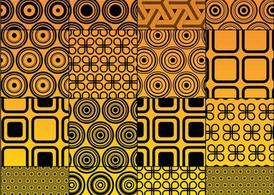 Vector Circles Graphics Pattern