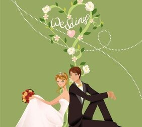 Wedding Vector Graphic 4