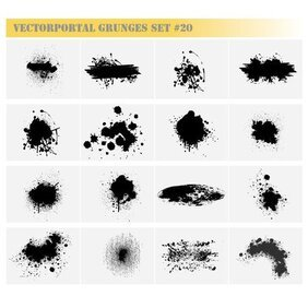 GRUNGE FREE VECTOR SET.eps