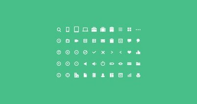 50 Mini Icon Set