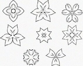 8 Decorative Free Vector Elements Edition 8
