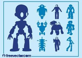Robot grafica Set