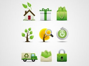 Environmental Protection Vector Icon Set (Free)