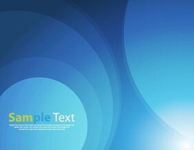 Abstract Blue Light Vector Illustration Art