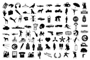 Elements of the various trends Silhouette