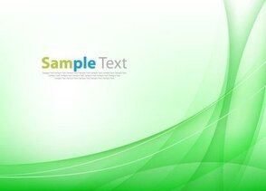 Abstract Green Vector Illustration Background