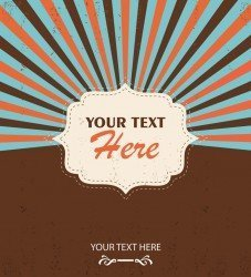 Free Vector Vintage Design Template