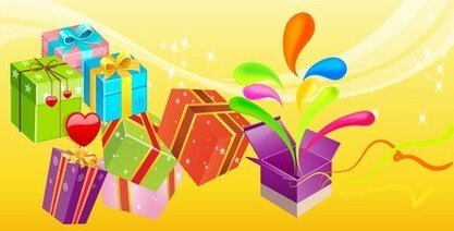 Free Vector Gift 01