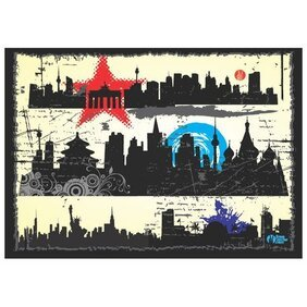 GRUNGE CITY VECTOR GRAPHICS.ai