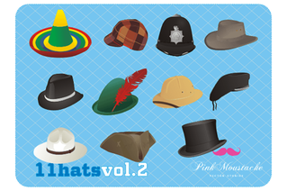 Hat Vector Illustrator Pack Free Download