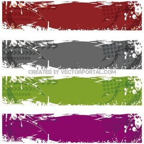 VECTOR GRUNGE BANNERS.eps