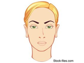 Free Vector Beautiful Face Blonde