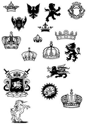 European royal design elements