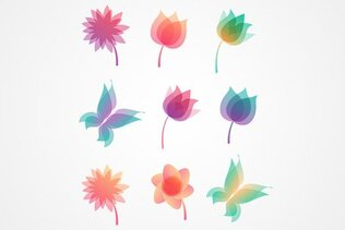 Flower Vector Icons (Free)