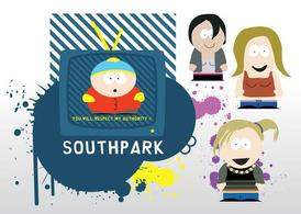 Vecteurs de South Park