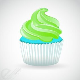 CupCake Free Vector illustration download