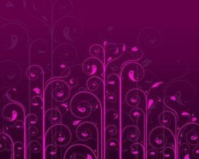 Voorraad Vector Swirls Flower Pattern