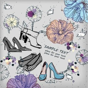 Shoes Fashion Illustrator 01