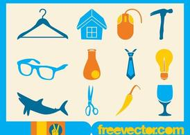 Gratis Vector pictogrammen collectie