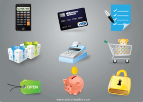 eCommerce Icon Set (10 icons)