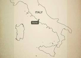 Gratuit Vector Map of Italy
