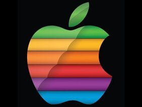 Modernisierte Apple-Regenbogen