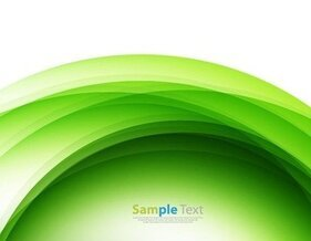 Abstract Design Green Background Vector Illustraion