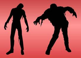 Zombies Silhouette Graphics