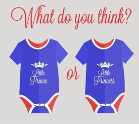 Blue Red Simplistic Royal Baby Wear