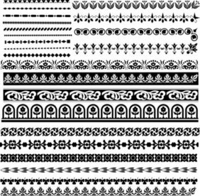 Classic traditional lace pattern 03