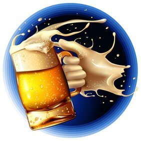 Cartoon Beer illustrator 2