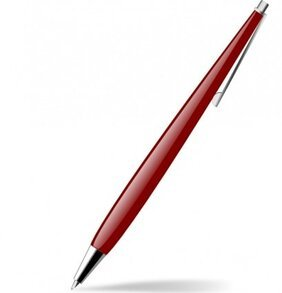 Red Glossy Pen