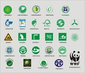 Environmental protection, certification logo