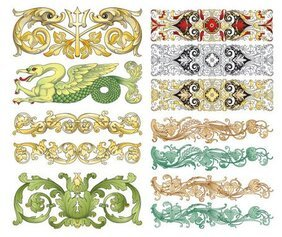 Vector Chinese classical patterns
