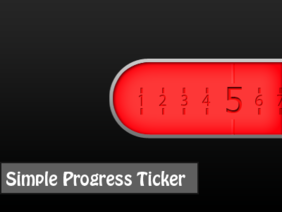 Simple Progress Ticker