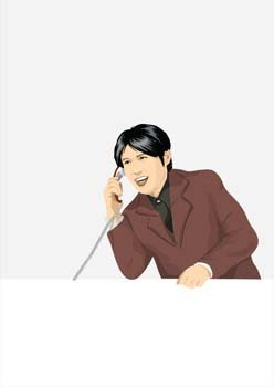Office Man Vector 7