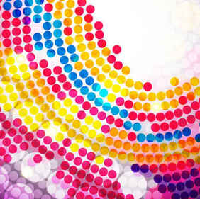 Colorful Circle Background